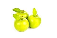 Fresh green apple. Stock Image