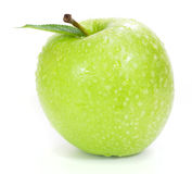 Fresh green apple Stock Images