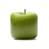 Fresh green apple. Isolated on white Royalty Free Stock Photos
