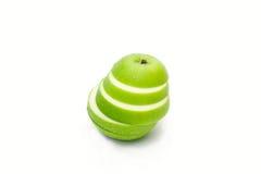 Fresh green apple  slice Royalty Free Stock Photo