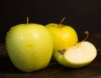 Fresh green apples Royalty Free Stock Photo