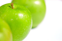 Fresh Green Apples II Stock Photos