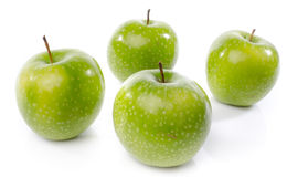 Fresh green apples Royalty Free Stock Image