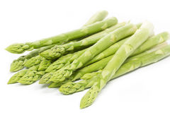Fresh green asparagus Stock Images