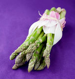 Fresh green asparagus Stock Photo