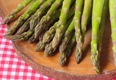 Fresh green asparagus Royalty Free Stock Image