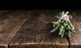 Fresh green Asparagus Royalty Free Stock Photo