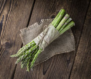 Fresh green Asparagus Royalty Free Stock Photography