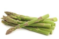fresh green asparagus tips Royalty Free Stock Image