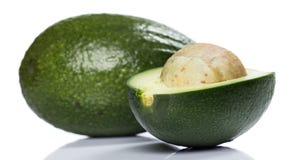 Fresh green avocado. Close up image of fresh and green avocado Stock Images