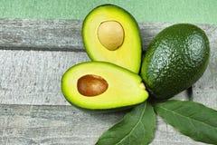 Fresh green avocado Stock Image