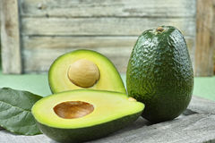 Fresh green avocado Royalty Free Stock Photography