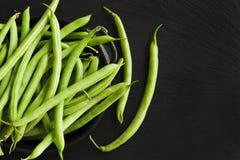Fresh green beans. Stock Images