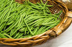 Fresh green beans Royalty Free Stock Photography