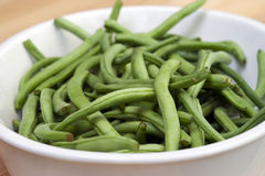 Fresh Green Beans Royalty Free Stock Photos
