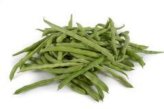Fresh green beans Royalty Free Stock Photos