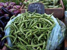Fresh Green Beans For Sale Royalty Free Stock Image