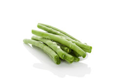 Fresh green beans. Royalty Free Stock Photography
