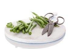 Fresh green beans. Stock Photo
