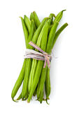 Fresh green beans Stock Photography