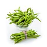 Fresh green beans Stock Photo