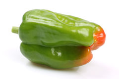 Fresh green bell pepper Stock Image