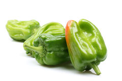 Fresh green bell pepper Royalty Free Stock Image