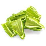 Fresh green bell pepper Stock Image