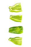 Fresh green bell pepper Royalty Free Stock Photo