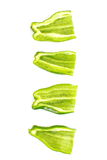 Fresh green bell pepper Royalty Free Stock Images
