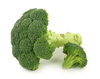 Fresh green broccoli royalty free stock photography