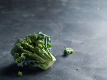Fresh green broccoli Stock Photos