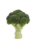Fresh and Green Broccoli Pieces. Isolated on a white background Stock Photography