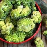 Fresh green broccoli Royalty Free Stock Images