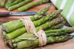 Free Fresh Green Bundles Of Asparagus Stock Photos - 47208263