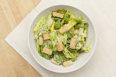 Fresh green Caeser Salad Stock Image