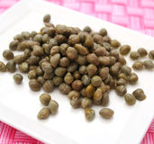 Fresh green capers Royalty Free Stock Photos