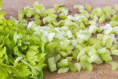 Fresh green celery Stock Photo