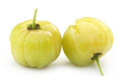Fresh green cherry fruits Royalty Free Stock Photography