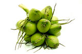 Fresh green coconuts Royalty Free Stock Photos