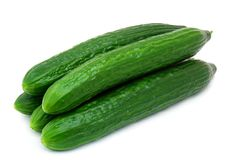 Free Fresh Green Cucumber Royalty Free Stock Images - 13960879