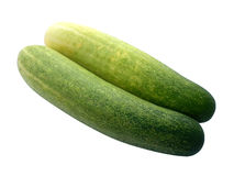 Fresh green cucumber Royalty Free Stock Images