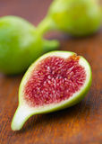 Fresh Green Figs Stock Image