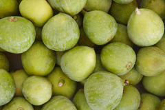 Fresh green figs detail Royalty Free Stock Images