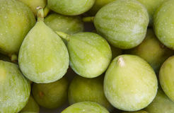Fresh green figs detail Stock Images