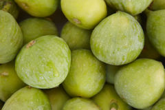 Fresh green figs detail Royalty Free Stock Photography