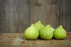 Fresh green figs Royalty Free Stock Photo