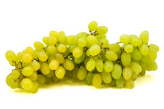 fresh green grapes Royalty Free Stock Photo