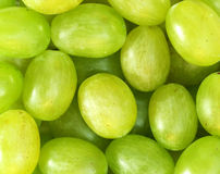 Fresh green grapes background Royalty Free Stock Images