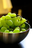 Fresh green grapes fruit Royalty Free Stock Image
